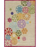 RugStudio presents Momeni Lil Mo Hipster LMT-8 Ivory/Multi Hand-Tufted, Best Quality Area Rug
