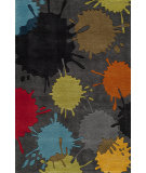 RugStudio presents Momeni Lil Mo Hipster Lmt-9 Grey/Multi Hand-Tufted, Good Quality Area Rug
