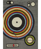 RugStudio presents Momeni Lil Mo Hipster Lmt12 Grey/Multi Hand-Tufted, Best Quality Area Rug