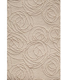 RugStudio presents Famous Maker Mirlane 91942 Cream Machine Woven, Good Quality Area Rug