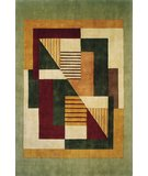 RugStudio presents Momeni New Wave NW-06 Green Hand-Tufted, Best Quality Area Rug