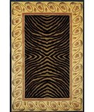 RugStudio presents Momeni New Wave NW-09 Black Hand-Tufted, Best Quality Area Rug