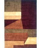 RugStudio presents Momeni New Wave NW-19 Wine Hand-Tufted, Best Quality Area Rug