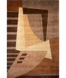 RugStudio presents Momeni New Wave NW-22 Lt.Brown Hand-Tufted, Best Quality Area Rug