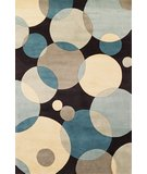 RugStudio presents Momeni New Wave NW-37 Teal Hand-Tufted, Best Quality Area Rug