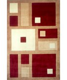 RugStudio presents Momeni New Wave NW-50 Red Hand-Tufted, Best Quality Area Rug