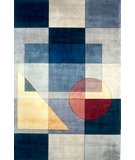 RugStudio presents Momeni New Wave NW-54 Blue Hand-Tufted, Best Quality Area Rug