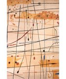RugStudio presents Momeni New Wave NW-58 Beige Hand-Tufted, Best Quality Area Rug