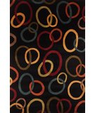 RugStudio presents Momeni New Wave NW-75 Black Hand-Tufted, Best Quality Area Rug