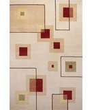 RugStudio presents Momeni New Wave NW-77 Ivory Hand-Tufted, Best Quality Area Rug