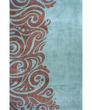 RugStudio presents Rugstudio Sample Sale 45938R Turquoise Hand-Tufted, Best Quality Area Rug