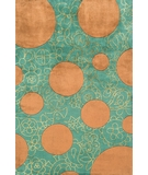 RugStudio presents Momeni New Wave NW100 Green Hand-Tufted, Best Quality Area Rug