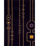 RugStudio presents Momeni New Wave NW101 Black Hand-Tufted, Best Quality Area Rug