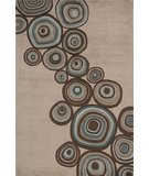 RugStudio presents Rugstudio Sample Sale 45970R Mushroom Hand-Tufted, Best Quality Area Rug