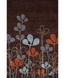 RugStudio presents Momeni New Wave NW125 Chocolate Hand-Tufted, Best Quality Area Rug