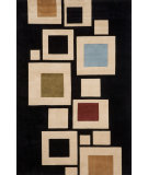 RugStudio presents Momeni New Wave NW126 Black Hand-Tufted, Best Quality Area Rug