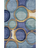 RugStudio presents Momeni New Wave NW133 Blue Hand-Tufted, Best Quality Area Rug