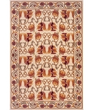 RugStudio presents Momeni Nouveau NV-05 Ivory Machine Woven, Good Quality Area Rug
