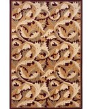 RugStudio presents Momeni Nouveau NV-08 Burgundy Machine Woven, Good Quality Area Rug