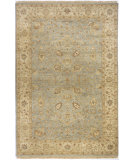 RugStudio presents Rugstudio Sample Sale 87614R Light Blue Hand-Knotted, Best Quality Area Rug