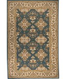 RugStudio presents Momeni Persian Garden PG-01 Teal Blue Machine Woven, Good Quality Area Rug