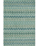 RugStudio presents Momeni Rio Rio-1 Teal Machine Woven, Good Quality Area Rug