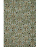 RugStudio presents Momeni Rio Rio-3 Teal Machine Woven, Good Quality Area Rug