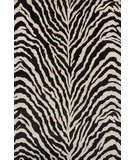 RugStudio presents Momeni Serengeti SG-05 Black/White Hand-Tufted, Best Quality Area Rug