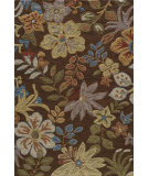 RugStudio presents Rugstudio Sample Sale 57481R Brown Hand-Hooked Area Rug