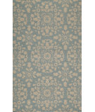 RugStudio presents Momeni Suzani Hook Szi-4 Blue Hand-Hooked Area Rug
