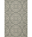 RugStudio presents Momeni Suzani Hook Szi-4 Grey Hand-Hooked Area Rug