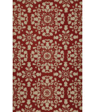 RugStudio presents Momeni Suzani Hook Szi-4 Red Hand-Hooked Area Rug