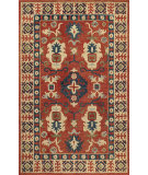 RugStudio presents Momeni Tangier Tan-3 Red Hand-Hooked Area Rug