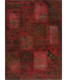 RugStudio presents Momeni Vintage Vin-3 Raspberry Machine Woven, Best Quality Area Rug