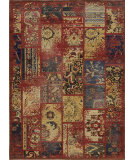 RugStudio presents Momeni Vintage Vin-7 Raspberry Machine Woven, Best Quality Area Rug