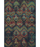 RugStudio presents Rugstudio Sample Sale 75113R Blue Machine Woven, Best Quality Area Rug