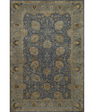 RugStudio presents Momeni Zarin Zr-03 Blue Hand-Tufted, Best Quality Area Rug