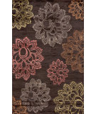 RugStudio presents Momeni Zen Zen-4 Aubergine Hand-Tufted, Best Quality Area Rug
