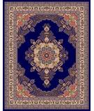 RugStudio presents Moren Rugs Emerald Firuze G18 navy Machine Woven, Best Quality Area Rug