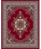 RugStudio presents Moren Rugs Emerald Firuze G18 red Machine Woven, Best Quality Area Rug