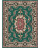 RugStudio presents Moren Rugs Emerald Kayseri Teal Green Machine Woven, Best Quality Area Rug