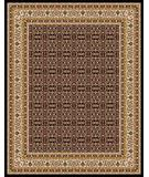 RugStudio presents Moren Rugs Emerald Shah Abbas P27 Black Machine Woven, Best Quality Area Rug