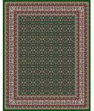 RugStudio presents Moren Rugs Emerald Shah Abbas P27 Hunter Green Machine Woven, Best Quality Area Rug