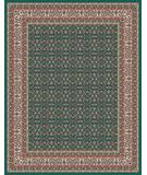 RugStudio presents Moren Rugs Emerald Shah Abbas P27 Teal Green Machine Woven, Best Quality Area Rug