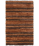 RugStudio presents Noble House Mirage Mira-5204 Brown / Gold Area Rug