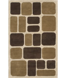 RugStudio presents Noble House Eleen Eleen-5911 Beige / Brown Hand-Tufted, Good Quality Area Rug