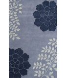 RugStudio presents Noble House Gardenia Gar-5703 Blue Hand-Tufted, Good Quality Area Rug