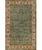 RugStudio presents Noble House Vintage Vin-1101 Light Blue / Beige Hand-Tufted, Best Quality Area Rug