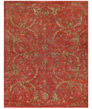RugStudio presents Noble House Legacy Leg-1501 Red Hand-Knotted, Best Quality Area Rug