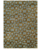 RugStudio presents Noble House Legacy Leg-1503 Grey / Gold Hand-Knotted, Best Quality Area Rug